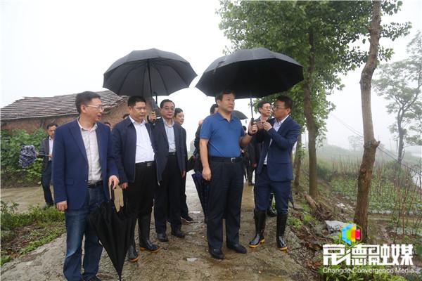 曹立军赴汉寿县督导检查生态环保问题整改情况
