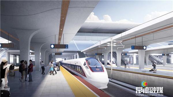 曹立军调度常德高铁站建设 加快推进车站控制性工程 确保高铁如期建成通车