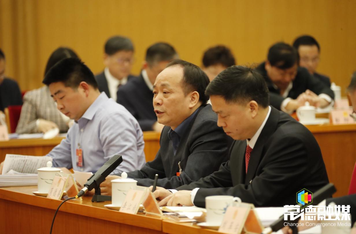 湖南代表团审议全国人大常委会工作报告