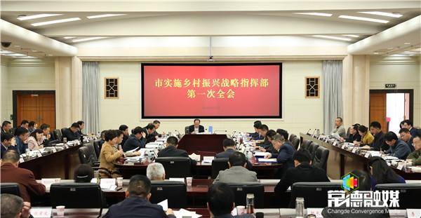 市实施乡村振兴战略指挥部召开第一次全会