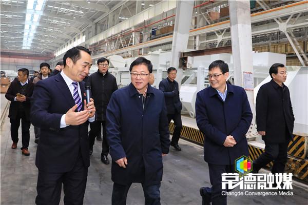 陈文浩来常调研时指出 突出改革创新 助推高质量发展