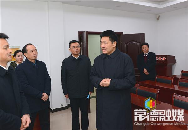 傅奎来常调研走访时强调:精准履职 推动纪检监察工作高质量发展