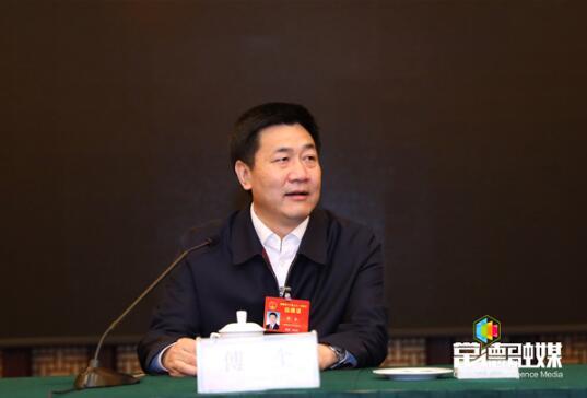 湖南省领导看望常德代表团代表