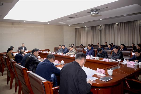 曹立军主持召开市土地管理委员会全会