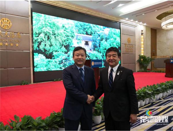 曹立军出席湖南省与滋贺县结好35周年纪念活动