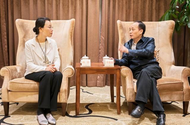 周德睿会见全国友协副会长林怡