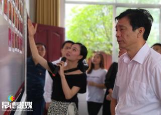 蔡振红在常德调研时强调切实加强基层宣传思想文化工作