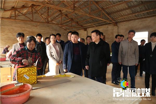 陈飞来常对安全生产工作和白酒产业发展展开督导调研