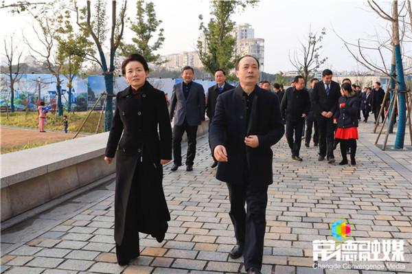 永州市党政代表团来常德考察 周德睿曹立军全程陪同